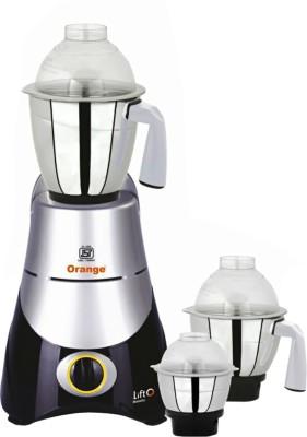 Orange-LiftO-1000W-Mixer-Grinder-(3-Jars)