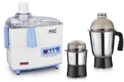 Padmini Essentia Magic 450W Juicer Mixer Grinder (2 Jars)