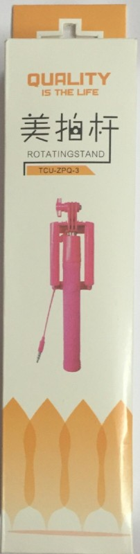 BKT SS-02 Selfie Stick(Pink, Purple, Blue)