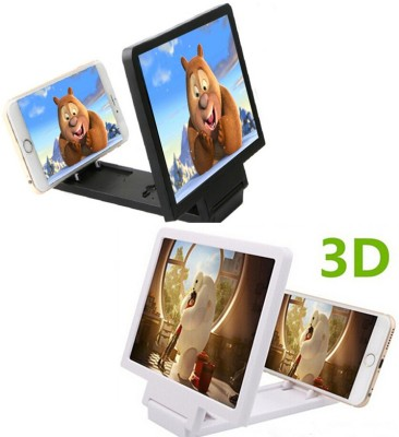 Evana 3D Enlarge Screen For Micromax_Canvas_SelFie_Lens_Q345 Micro Portable Projector