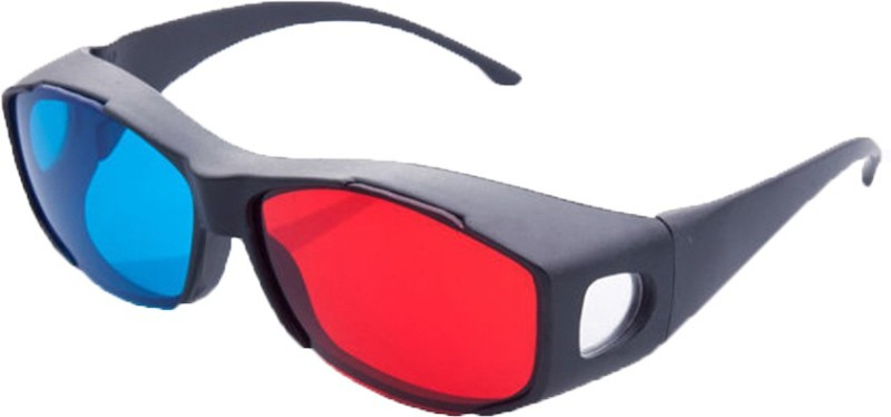 Hrinkar New Model Anaglyph Plastic Updated Version 2015 Video Glasses