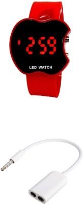 Bigkik Led Watch, 3.5mm Audio Jack Combo Set