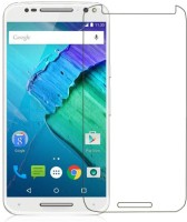 Big Zee Kristal Clear Tempered Glass for Motorola Moto X Style