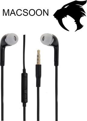 Macsoon J5-B Wired Headset