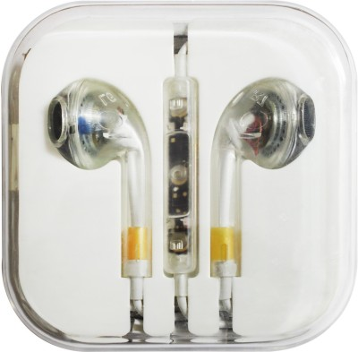 Bainsons Transparent Iphone Earphone Stereo Dynamic Wired Headphones