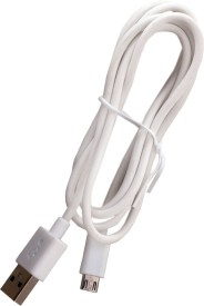 Trost Data/Sync Cable for Smsng_Glaxy J1 SM-J100H USB Cable(White)