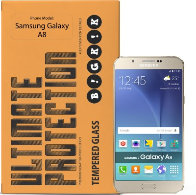 Bigkik Tempered Glass Guard for Samsung Galaxy A8