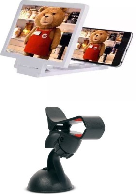 Bigkik 3d Phone Screen+ Car Holder Combo Set