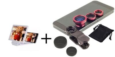TOTU TOTU 3D F1 Model Enlarged Screen Mobile Phone 3D + Universal Clip Mobile Phone 3 In 1 Lens Accessory Combo