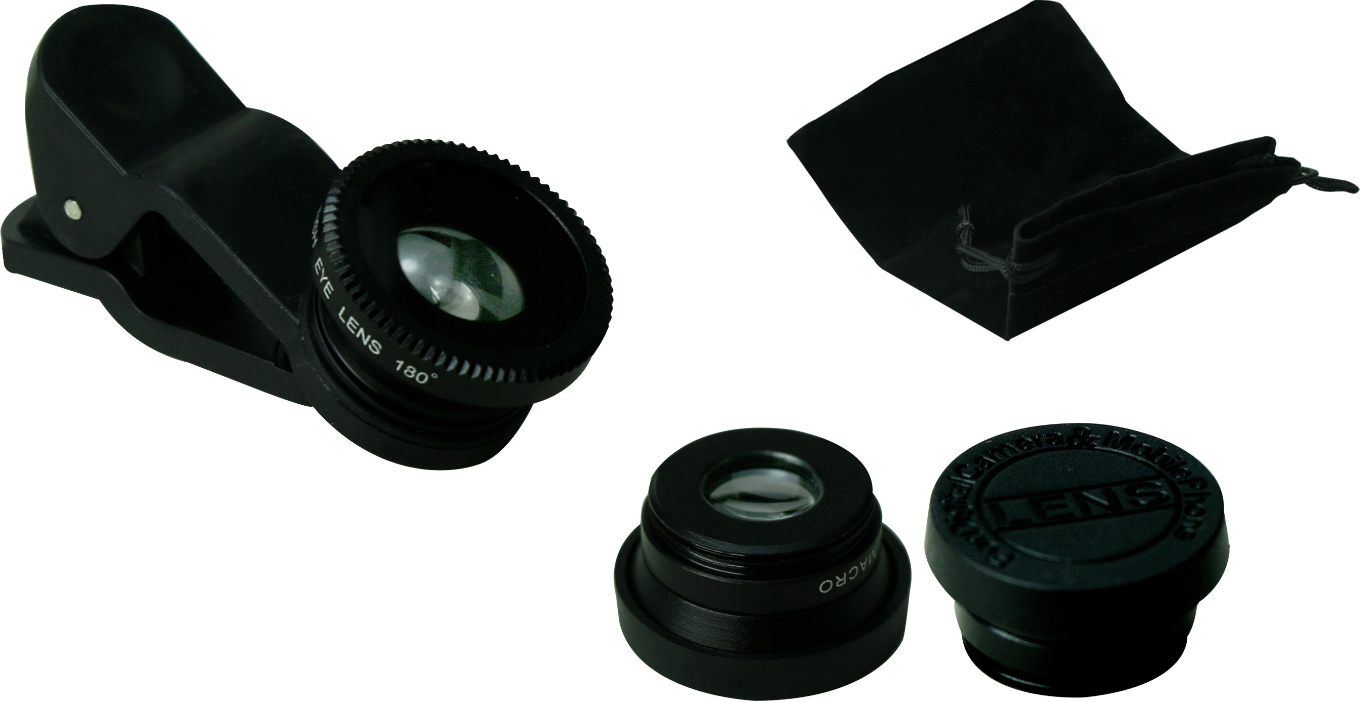 GOGLE SOURCING GS1233 Mobile Phone Lens(Wide and Macro)