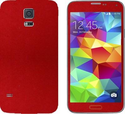 STICK_ME VELVET SAMSUNG GALAXY S5 Mobile Skin(Red)
