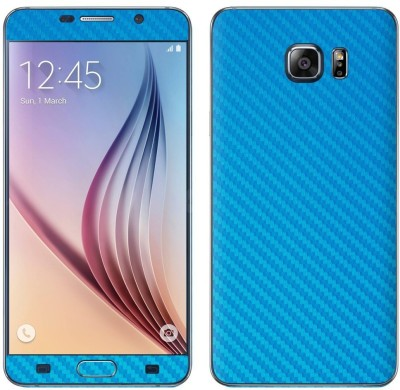STICK_ME Carbon Fiber Samsung Galaxy NOTE 5 Mobile Skin(Light Blue)