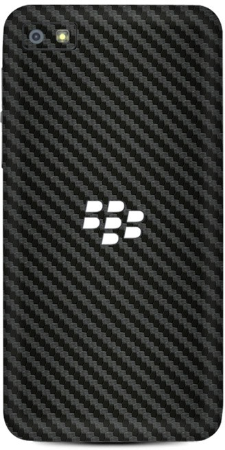 Skinnova Full BBZ10 Carbon Fiber Black Berry Z10 Mobile Skin(Black)