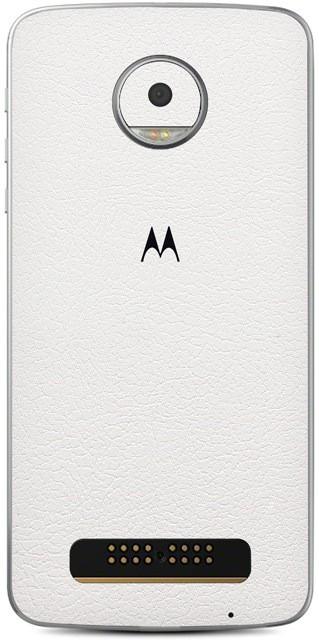 Skinnova Mot Moto Z Play Mobile Skin(White)