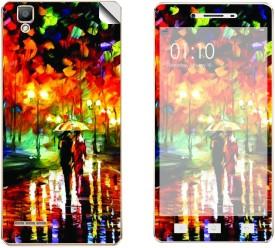Skintice SKIN53661 Oppo F1 Mobile Skin(Orange)