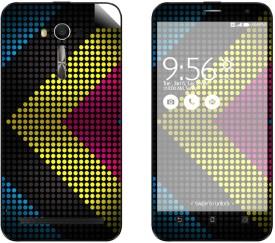Skintice SKIN53101 Asus ZenFone 2 Laser Ze500KL Mobile Skin(Multicolor)
