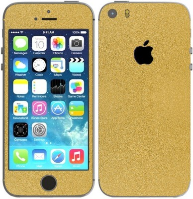 STICK_ME GLITTER IPHONE 5 Mobile Skin(Gold)