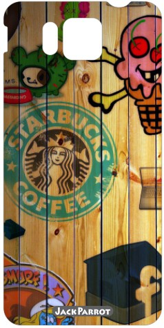 Jack Parrot Znn Sticker 00385 Samsung Galaxy Alpha Mobile Skin(Multicolor)