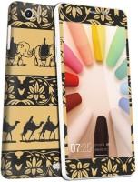 Skintice 81 - Gionee Elife E6 Gionee Elife E6 Mobile Skin(Multicolor)