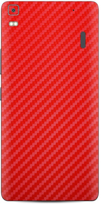 Skinnova K3RDCF Lenovo K3 Note Mobile Skin(Red)