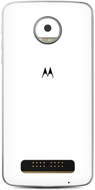 Skinnova Moto Z Play MTWT Moto Z Play Mobile Skin(White)