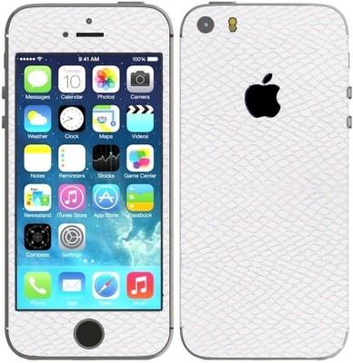STICK_ME SNAKE SKIN IPHONE 5 Mobile Skin(White)