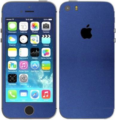 STICK_ME VELVET IPHONE 5 Mobile Skin(Blue)