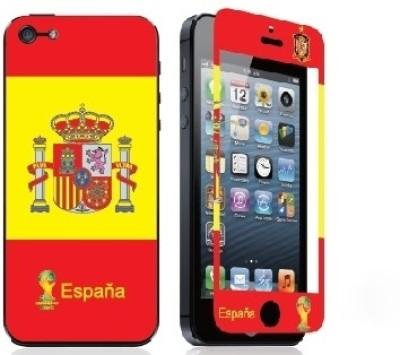 Magic Premium Tempred Glasses FIFA2014-ESPANA iPhone 5 Mobile Skin