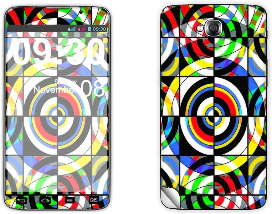 Skintice SKIN1739-fk LG G Pro Lite D686 Mobile Skin(Multicolor)