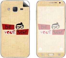 Skintice SKIN54086 Samsung Galaxy J2 Mobile Skin(Beige)