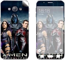 Skintice SKIN56481 Samsung Galaxy A8 Mobile Skin(Black)
