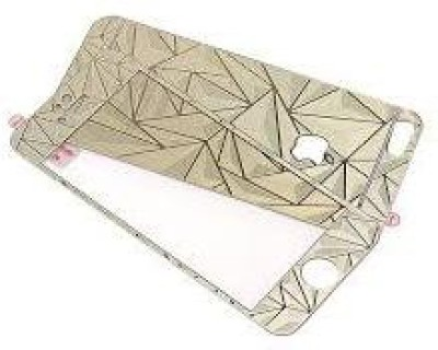 Real Deal Tempered Glass Guard for apple iphone 5s (gold 3d)