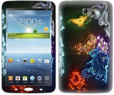 TopSkin Skin for Samsung Galaxy Tab 3 TS-8026 Samsung Galaxy TAB 3 Mobile Skin (Multicolor)