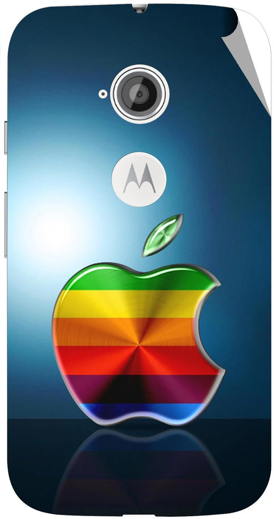 G.store B13046 Motorola Moto E2 Mobile Skin(Mullti Color)