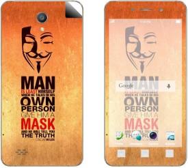 Skintice SKIN55127 OPPO Joy 3 Mobile Skin(Multicolor)