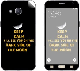 Skintice SKIN54195 Samsung Galaxy J2 Mobile Skin(Black)
