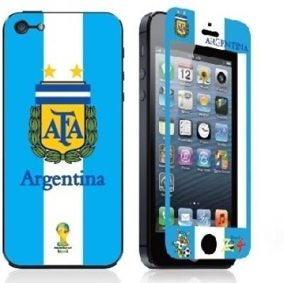 Magic Premium Tempred Glasses FIFA2014-ARGENTINA iPhone 5 Mobile Skin