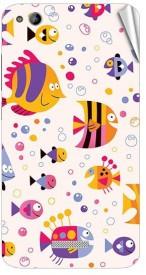 Garmor Gz-x10996 Designer Mobile Skin Sticker For Gionee G5 Mobile Skin(Multicolor)