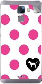 Gsmkart HH7 - Cute Pink Dots Huawei Honor 7 Mobile Skin