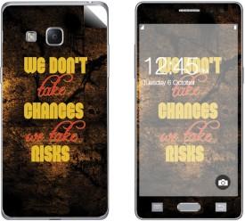 Skintice SKIN57066 Samsung Z3 Mobile Skin(Black)