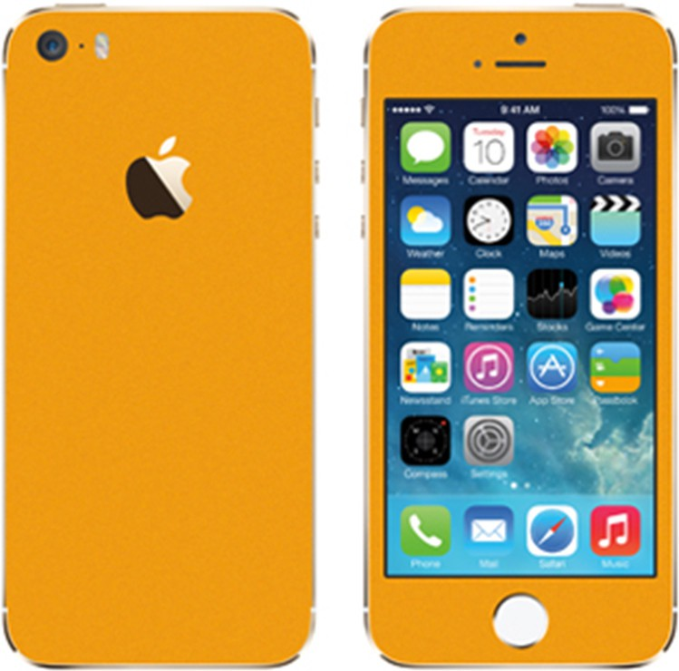 Robobull RB512 iPhone 5s Mobile Skin(SOLID ORANGE)