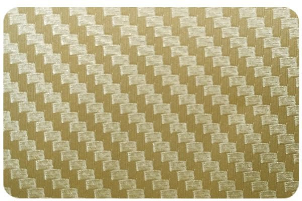 SKIN4GADGETS Golden Carbon Fiber Texture Laptop Skin for DELL XPS 13 ULTRABOOK DELL XPS 13 ULTRABOOK Mobile Skin(Multicolor) Image