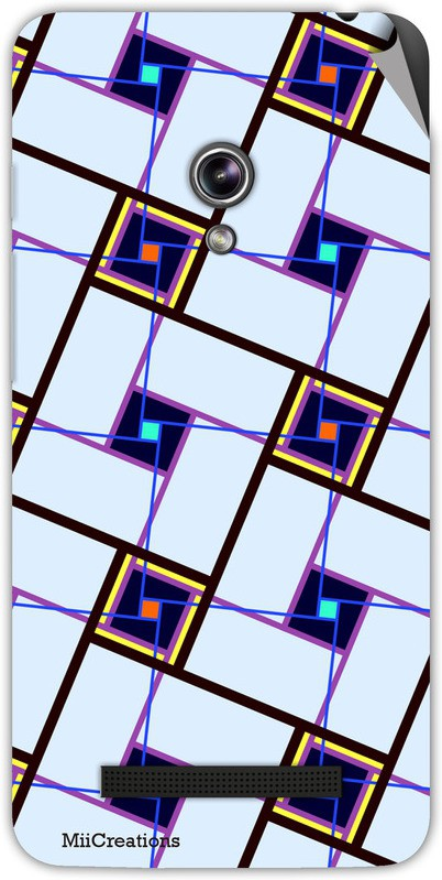 MiiCreations AS-ZF5-MS-00172 Asus Zenfone 5 Mobile Skin(Multicolor)