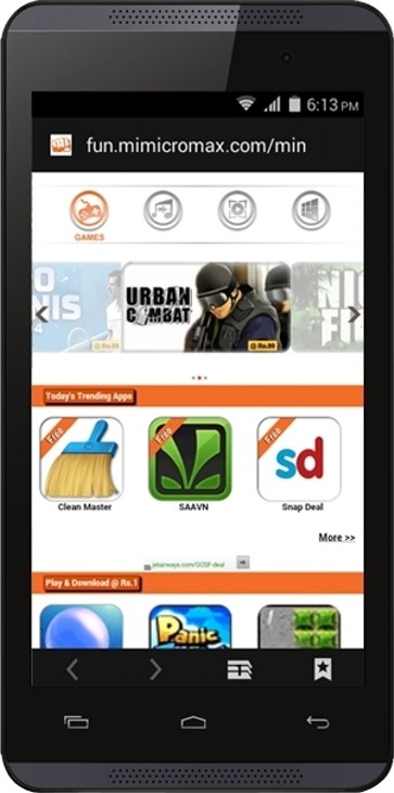 Micromax Canvas Fire 4 (1GB RAM, 8GB)