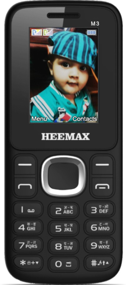 Heemax M3(Black & Orange)