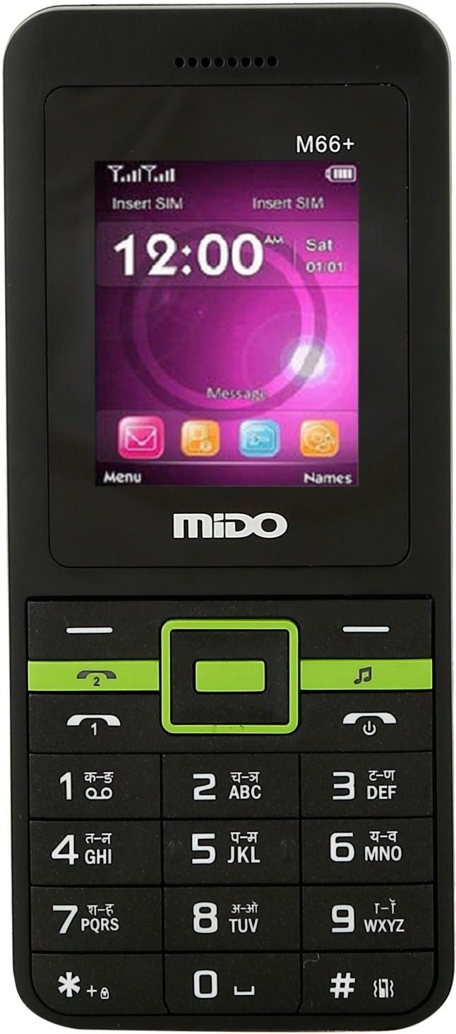 Mido M-66+(Black & Green)