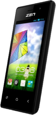 Zen 109 Smart Phone (Black, 512 MB)