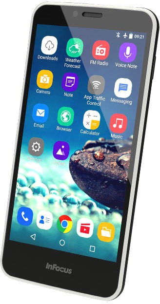 InFocus m370i (Gentle Black, 16 GB)(2 GB RAM)