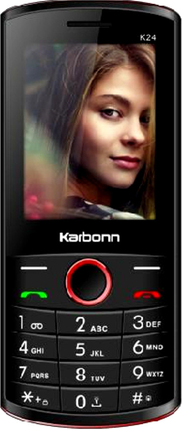 Karbonn K24(Black and Red)