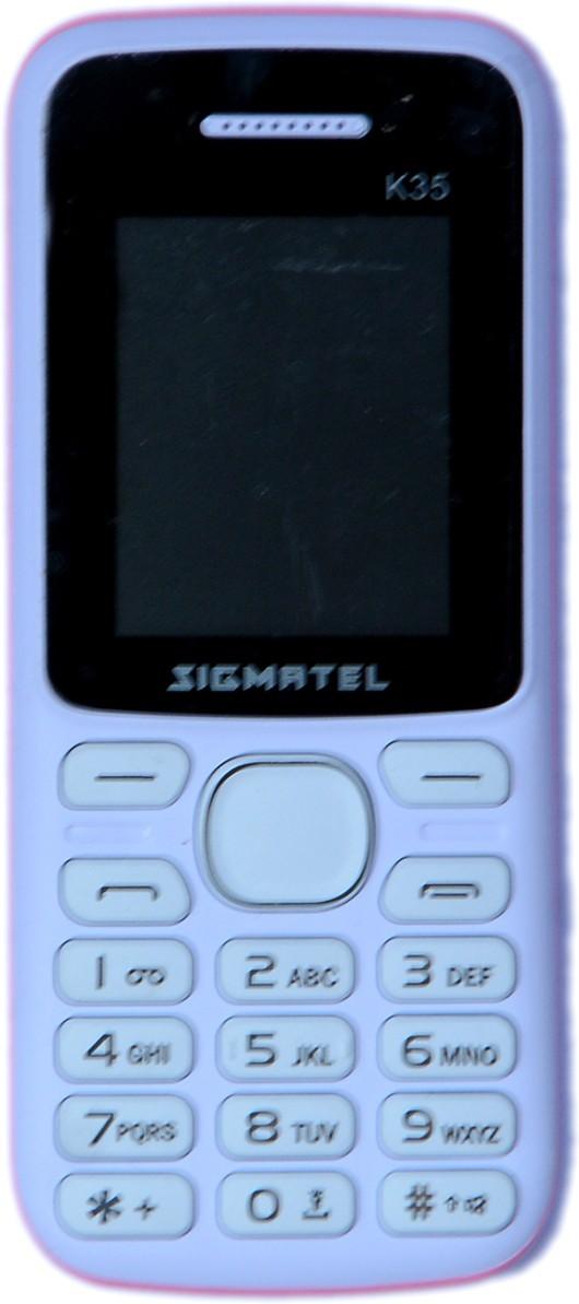 Saral Sigmatel K35(White+pink)